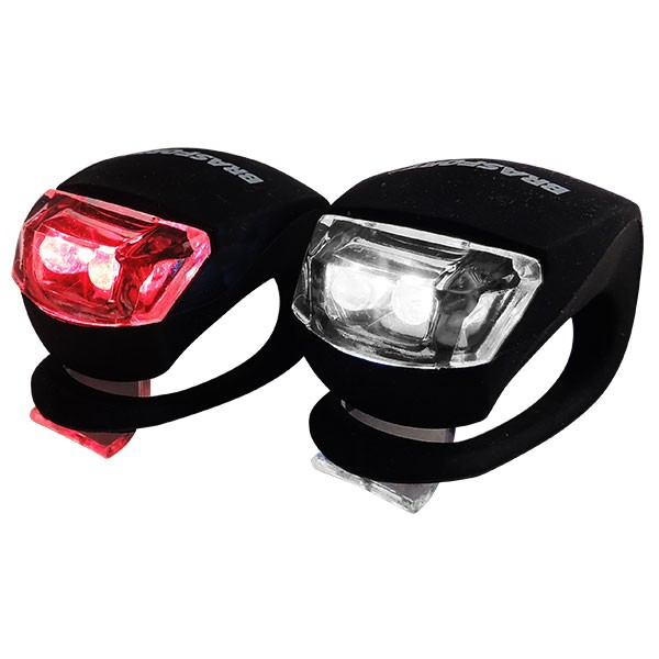 LANTERNA LED BIKE KIT (C/ 2) BRAFT