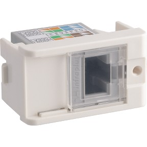 MODULO DECOR TOM RJ45 CAT6 SCHNEIDER